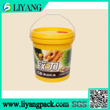 Heat Transfer Film for Diesel Engine Oil Bucket