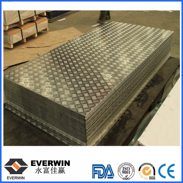 Five Bar Checkered Aluminum Sheet