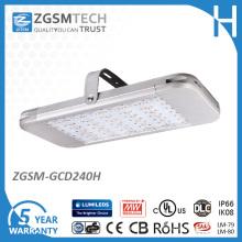 com luz industrial alta 240W da luz alta quente da baía do diodo emissor de luz da venda do lúmen Lm79