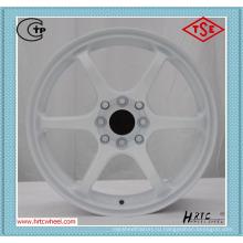 Непосредственно изготавливать колесные диски белого цвета для всех типов автомобилей
