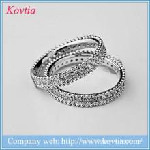 Wholesale alibaba 925 sliver cz rings jewelry titanium men gay ring