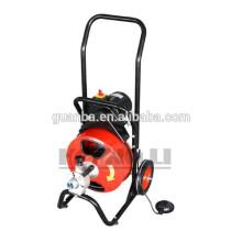 D360ZF limpador de tubo de drenagem portátil, mahcine limpeza de tubos