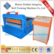 China Aluminium Curve Roof Sheet Roll Machine formant à vendre High Efficiency