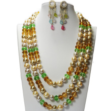 Costume Pearl Beads Jewelry Sets
