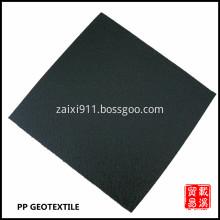 black polypropylene geotextile fabric nonwoven geotextile