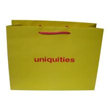 Benutzerdefinierte Logo gedruckt Papiertüte für Schuh / Kleidung / Geschenk-Verpackung Tasche