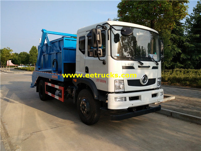 Dongfeng 10m3 Swing Arm Garbage Trucks
