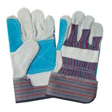 NMSAFETY nouvellement vache Split gants de soudage / vache split gants de travail de soudage des gants en cuir