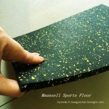 La Chine a fabriqué le plancher de gymnastique en caoutchouc le moins cher