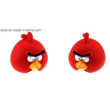 Brinquedos do brinquedo do vinil bonito Plastic Anyry Bird Toy