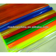 Hoja micro prismático reflexivo del PVC