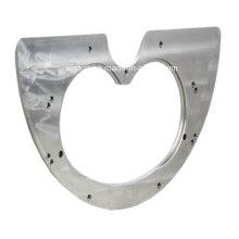 Plaque d'usure de pièces de rechange de pompe concrète Schwing