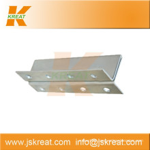 Elevator Parts|Guiding System|Elevator Hollow Guide Rail Fishplate|guide rail joint plate