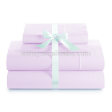 coloful 100% 300 Thread Count Luxury Soft Cotton hotel bed sheets