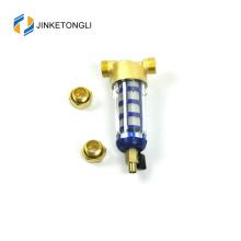 JKTLQZ001 malha de aço inoxidável torneiras filtro de água
