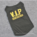 Black VIP Dog Clothes T-shirts Apparel For Pet Clothes Dog Puppy Chihuahua Poodle Teddy Of Pet Clothes Display