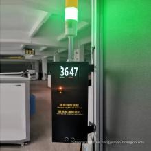 Puerta de monitoreo de temperatura paso a paso