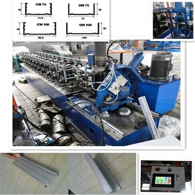 C channel Roll Forming Machines