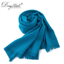 Scarf Made In China Wholesale Women Shawls Pure Color Cashmere Scarves
