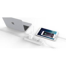 ORICO LPC-3A3U-US Desktop portable surge protector whole house voltage 6*AC+3*USB Charger