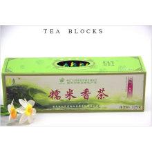 125g blocos de chá de arroz perfumado chinês