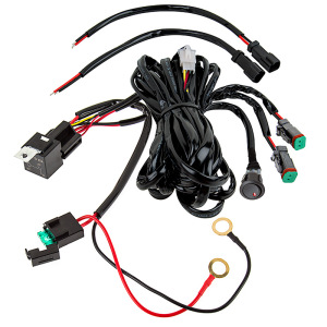 LED Light Wiring Harness Met Switch