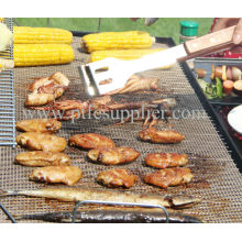 Good quality 100% for Non Stick BBQ Grill Tray PTFE Reusable Heavy-duty teflon Non Stick BBQ Grill Mats supply to Central African Republic Factory