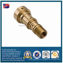 Hohe Qualität C36000 Messing Präzision CNC Bearbeitungsteil