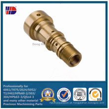 Alta Qualidade C36000 Latão Precisão CNC Usinagem de Peças