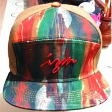Custom personalizada de impresión y bordado Deportes Gorras promocionales