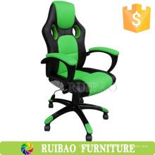 Jogo de corrida de móveis de escritório com braço confortável / cadeira de jogo para PC