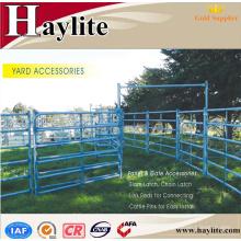 Panneaux temporaires d'obstacle de mouton galvanisé portatif de bétail à vendre