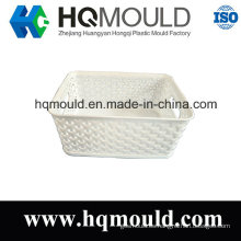 Herramienta de inyección de cesta de plástico Molde de cesta de productos básicos