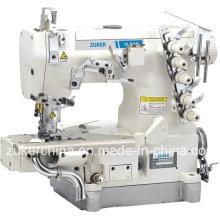 Zuker Pegasus cilindro cama lisa do bloqueio a máquina de costura (ZK600-35BB)