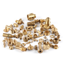 China Wholesale Custom High Precision Spare Accessories Metal Brass Fabrication CNC Machined Turning Milling Machining Parts