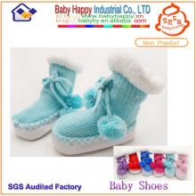 Calcetines baratos del zapato del bebé al por mayor