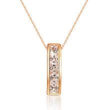 Классический постоянный пасьянс Clear CZ Pendant 925 Silver Jewelry