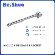 Smooth Handle Quick Release Ratchet of Socket Wrench