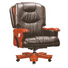 2015 new design luxury leather office massage chair hot sale boss chair
