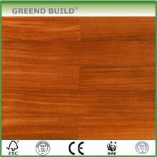 Plancher de bois d'ingénierie naturel lisse Okan