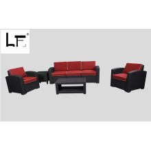 New model outdoor rattan garden sofa