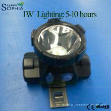 Lâmpada principal nova do diodo emissor de luz, luz principal, lâmpada principal recarregável, luz principal, farol sem fio, lâmpada do mineiro, lâmpada de mineração, luz de mineração do diodo emissor de luz