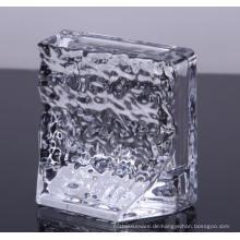 Geschirr Glas Kristall Papiergewicht für Verkauf