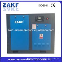 Compressor de ar do parafuso da pressão 50hp de 0.7 ~ 1.3bar com ZAKF
