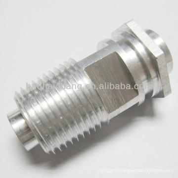 1 / 4-18 NPTF fil aluminium hex écrou pour tube de chauffage
