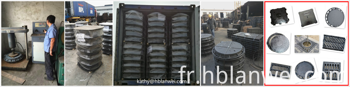 manhole cover grey cast iron manhole cover ductile iron manhole cover