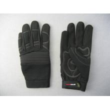 Micro Fiber Doubl Palm Mechanic Work Glove