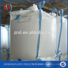 grand sac fourre-tout, sacs en vrac super sac de 1 tonne, sac en vrac tissé par pp pour le sable industriel de ciment de sable de matière industrielle