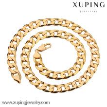 40879 Joyería de cadena plateada oro de Xuping, collar de los hombres de la moda para los hombres