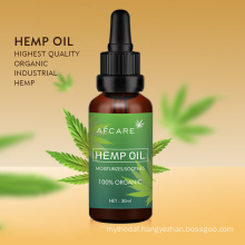 Hot Sell Hemp Oil Drops Natural Pure Full Spectrum Hemp Seed Oil Press Hemp Extract Oil Cbd